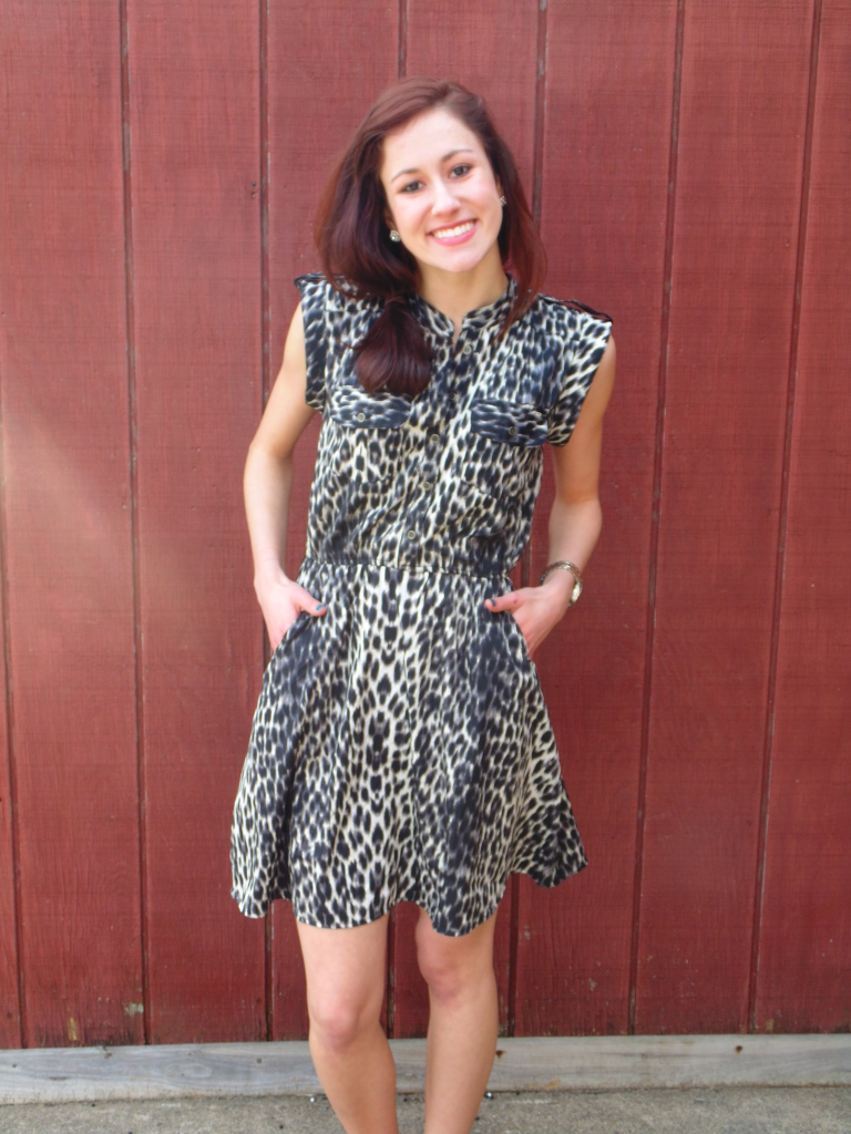 Leopard is an ongoing theme of mine. Fierce, right? - $9.99