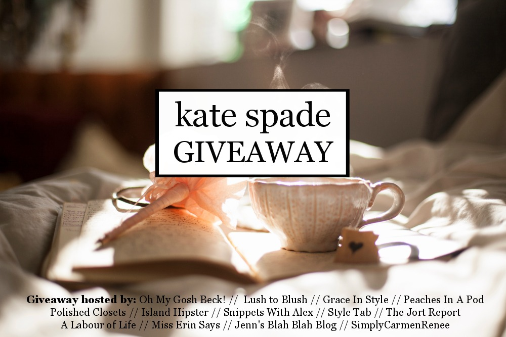 What Makes me Happy (+ $300 Kate Spade Giveaway!)