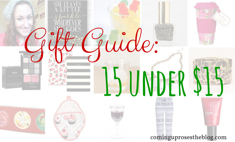 Gift Guide: 15 under $15.