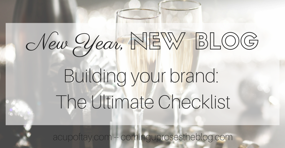 NYNB: Building your Brand (The Ultimate Checklist)