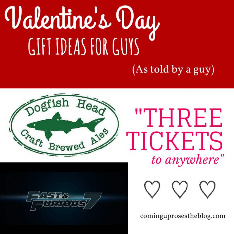 Valentine's Day Gift Guide for Him (Guest Post by Fiancé!)