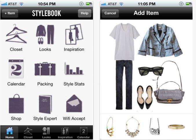 stylebook fashion app