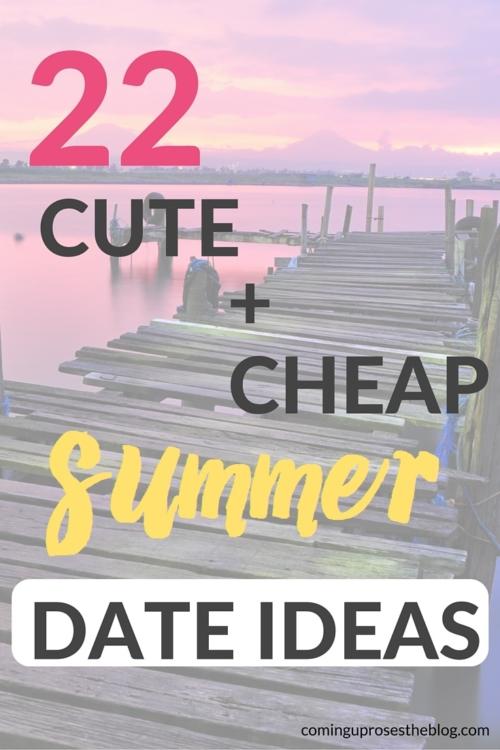 22 cute cheap summer date ideas