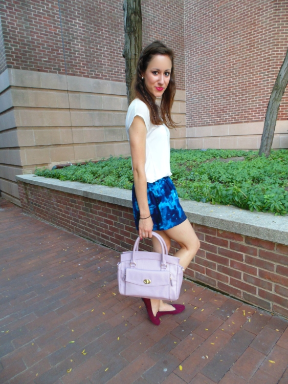 jewel tone fall outfit