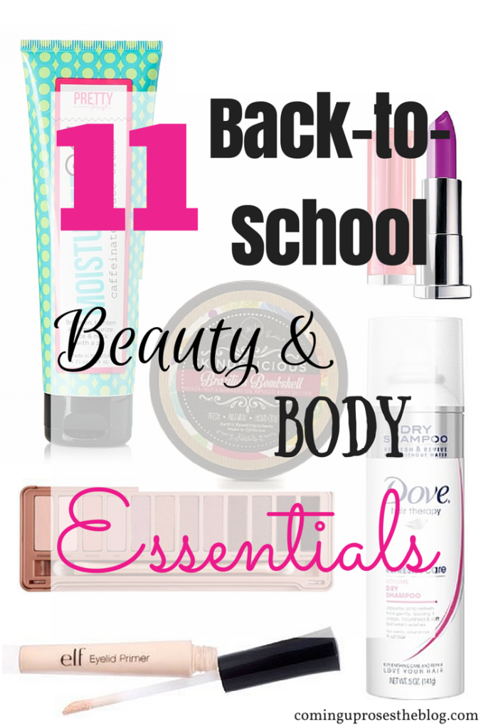 11 Back-to-School Beauty & Body Essentials