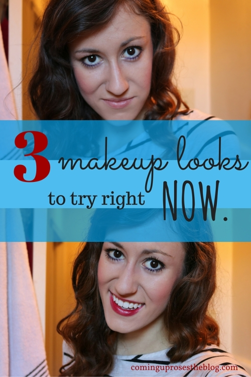 3 makeup looks you can try right now.
