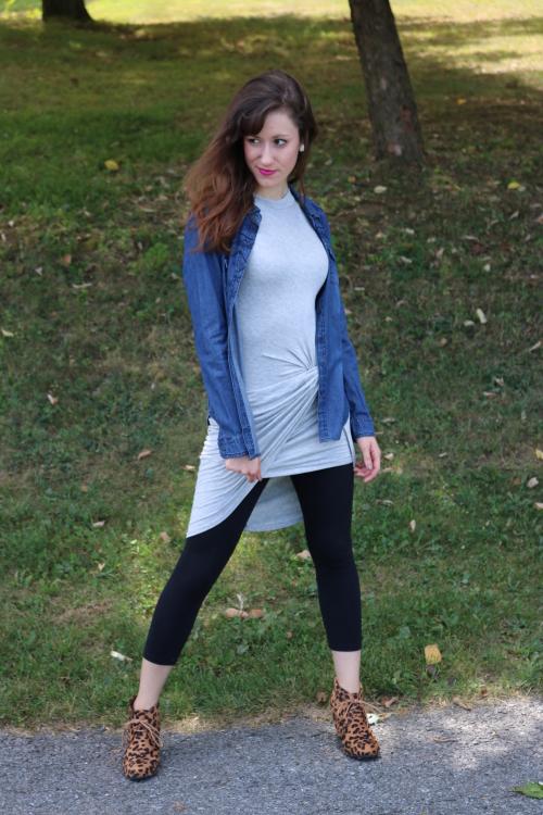 Ten ways to style a Grey Draped Dress