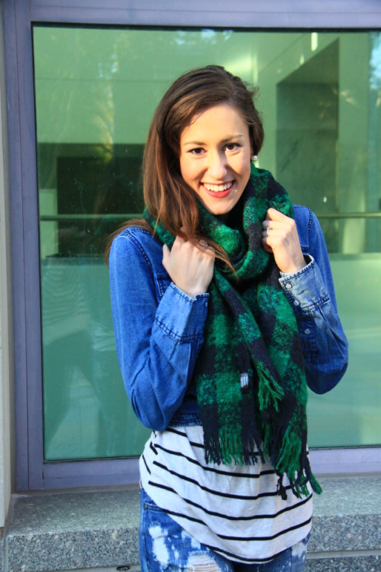 4 ways to accessorize chambray with denim