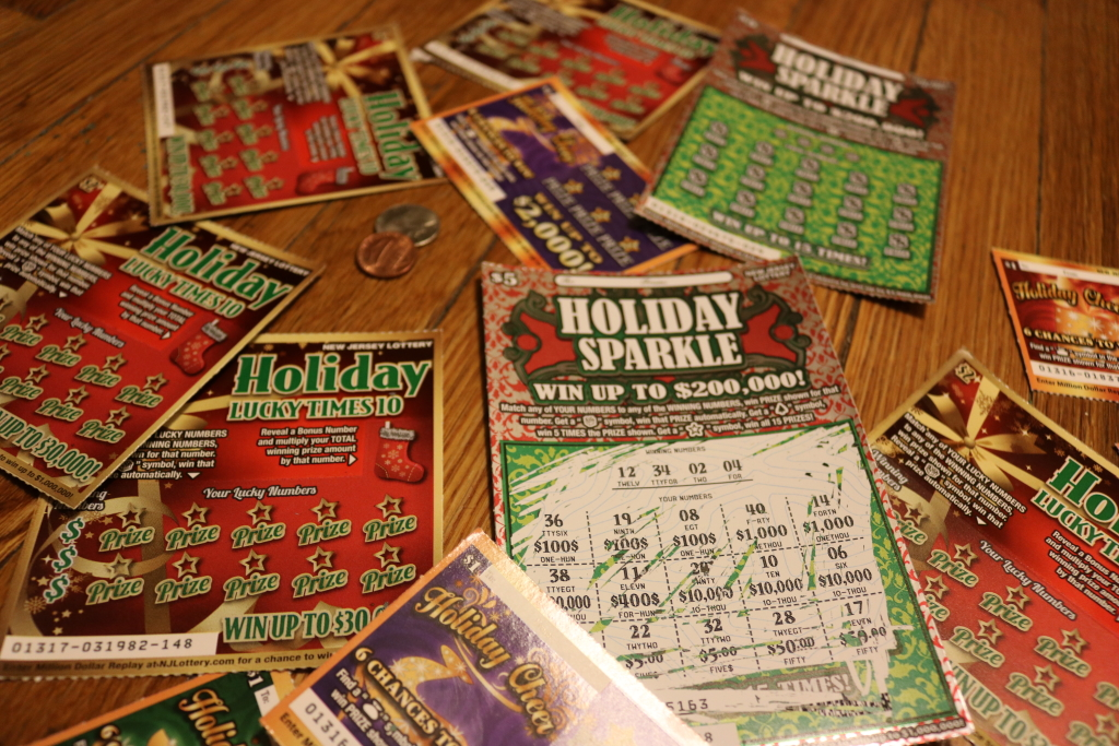 Get Lucky this Christmas – NJ Holiday Lottery
