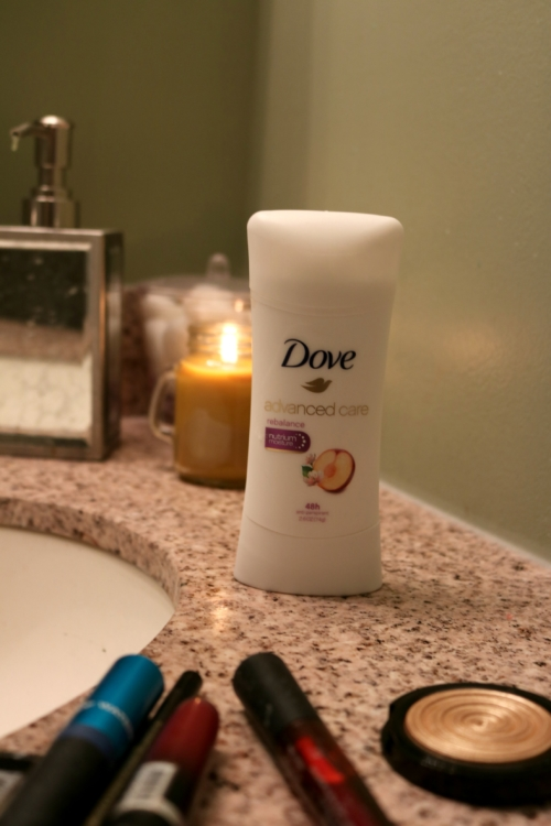 Sweatproof Summer Beauty Routine with Dove on Coming Up Roses