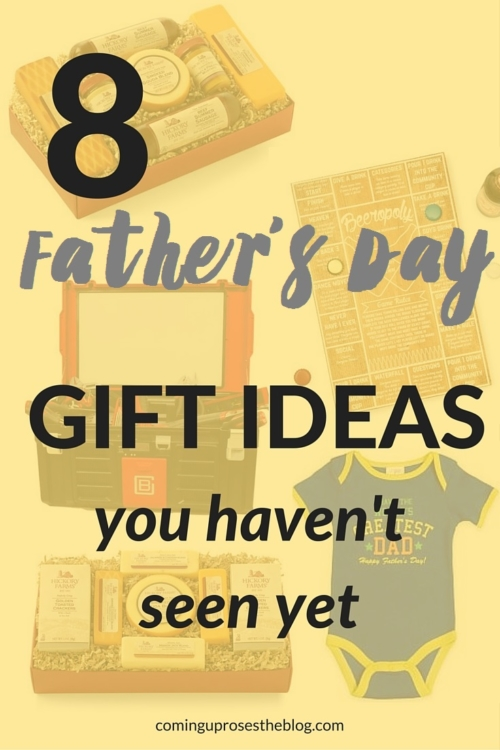 8 Father's Day Gift Ideas you haven't seen yet - on Coming Up Roses