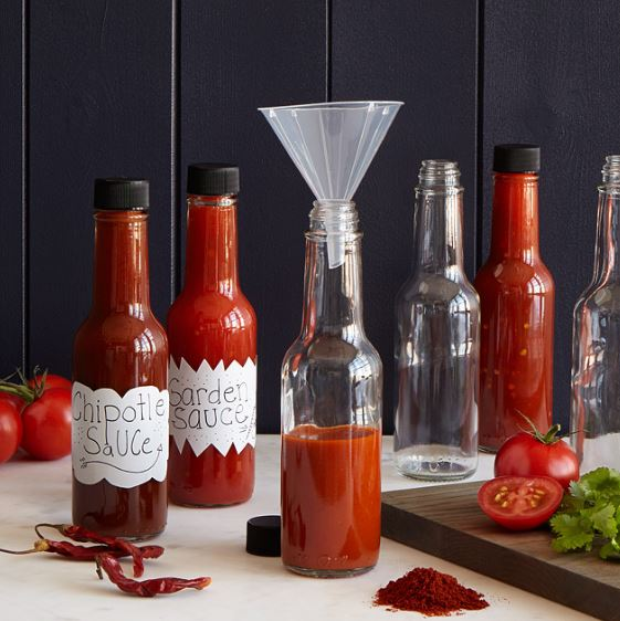 Make your own hot sauce - Father's Day Gift Idea on Coming Up Roses