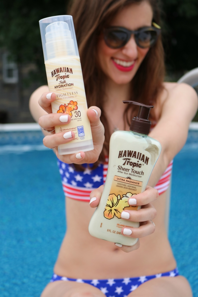 Hawaiian Tropic + the redwhiteandblue on Coming Up Roses