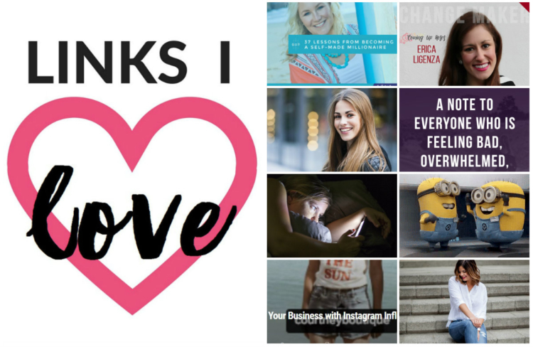 September: Links I Love - 37 lessons from becoming a self-made millionaire, a Teachable changemaker interview, 11 Habits of ridiculously likeable people, psychological life hacks, ways to fearlessly deal with trials, and MORE on Coming Up Roses