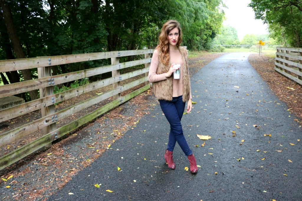 Trend to Try: Burgundy Booties - on Coming Up Roses