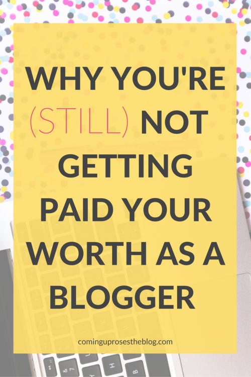 Why you're (still) not getting paid your worth as a blogger. + Introducing BossPitch: Pitching & (Politely) Persisting the Ultimate Brand Partnerships