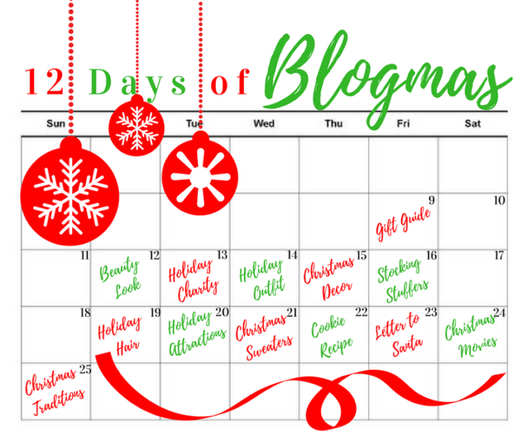 Blogmas on Coming Up Roses