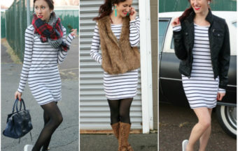 1 Thing, 3 Ways: Striped Dress (+ Presidents' Day SALES!)