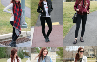 What to Wear with Leggings:  7 Ways to Style Black Leggings