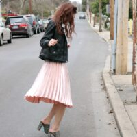 Trend to Try: Pleated Midi Skirt