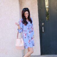 My Favorite Floral Dress + Easter Dresses Under $40