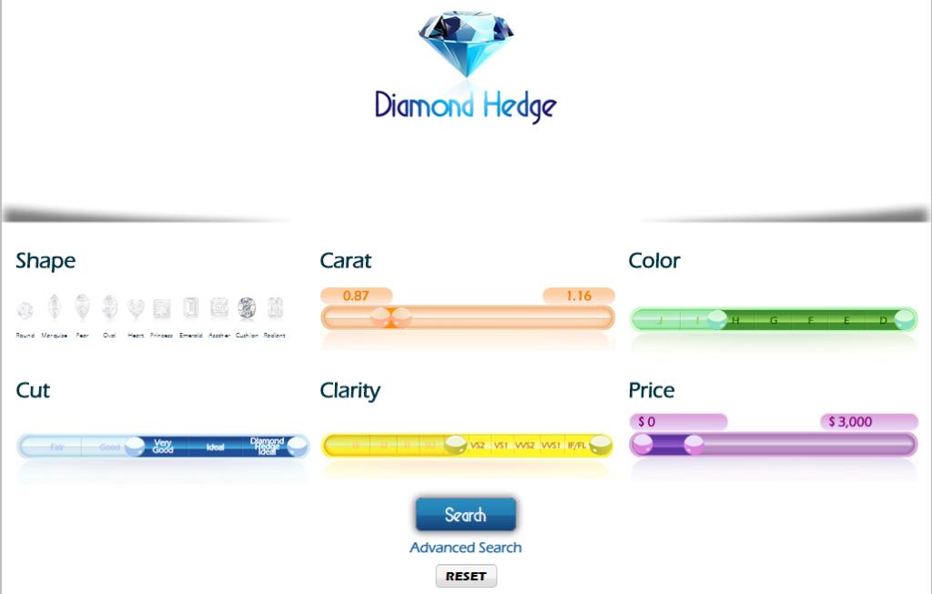 diamond hedge 3