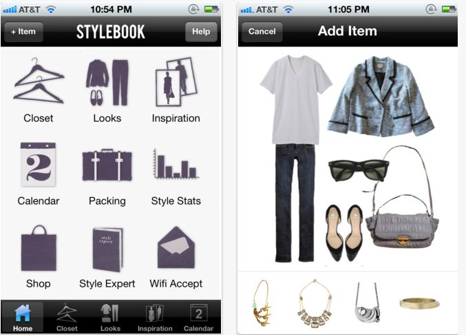 stylebook fashion app