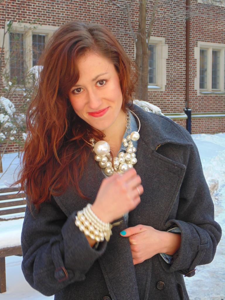 pearls fashion blogger ootd philadelphia