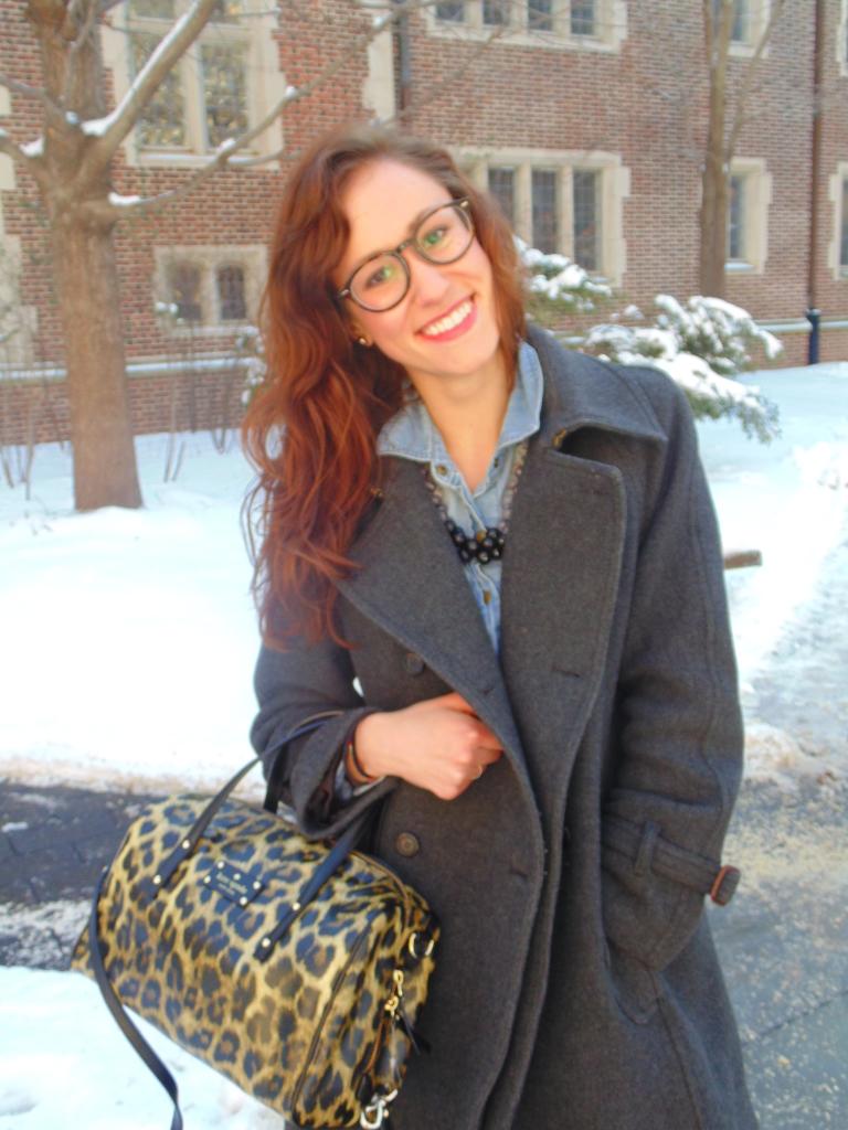 kate spade leopard print firmoo glasses fashion blogger ootd philadelphia