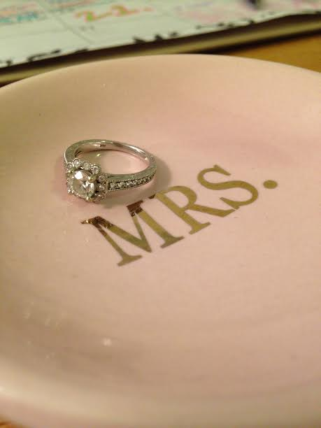 This perfect ring plate is from none other than Mary. I see why we all love her here...