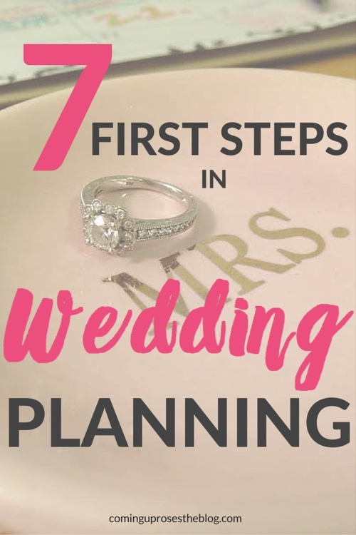 First things to do after getting engaged to start wedding planning process
