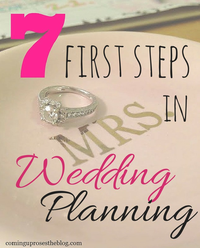 First Steps In Wedding Planning