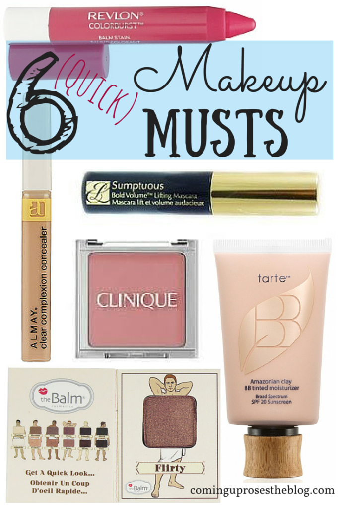 6 Quick Makeup Musts