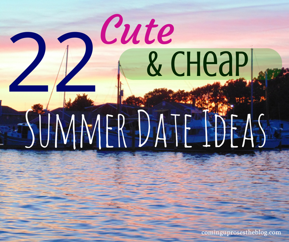 Creative Summer Date Ideas - From The Dating Divas