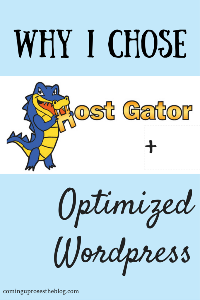 host your website with HostGator and Optimized WordPress