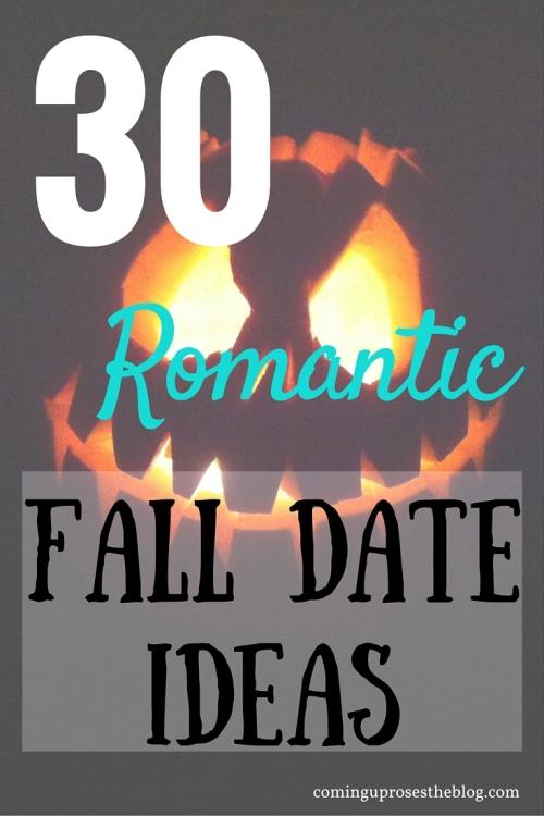 30 Romantic Fall Date Ideas