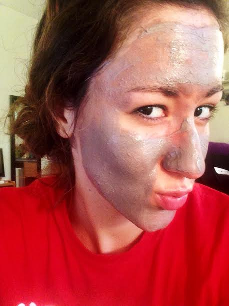 Perfectly posh clay face mask