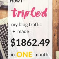 Income Report + Traffic Report from September