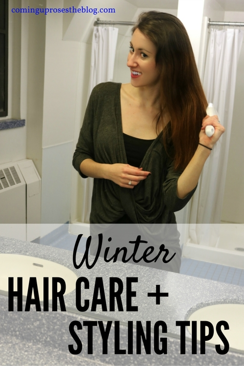 Winter hair care and styling tips - Coming Up Roses