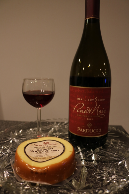 Ultimate wine and cheese pairings - a guide on Coming Up Roses with Hickory Farms