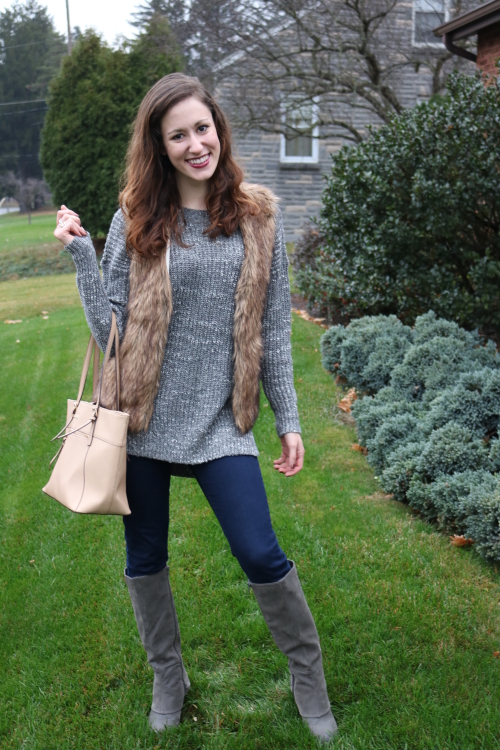 Holiday Outfit Inspiration with Crest on Coming Up Roses