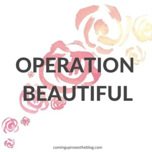 Operation Beautiful on Coming Up Roses