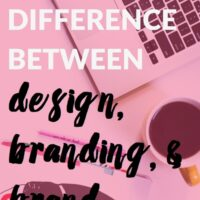 Brand, Branding, and Design: What's the Difference?