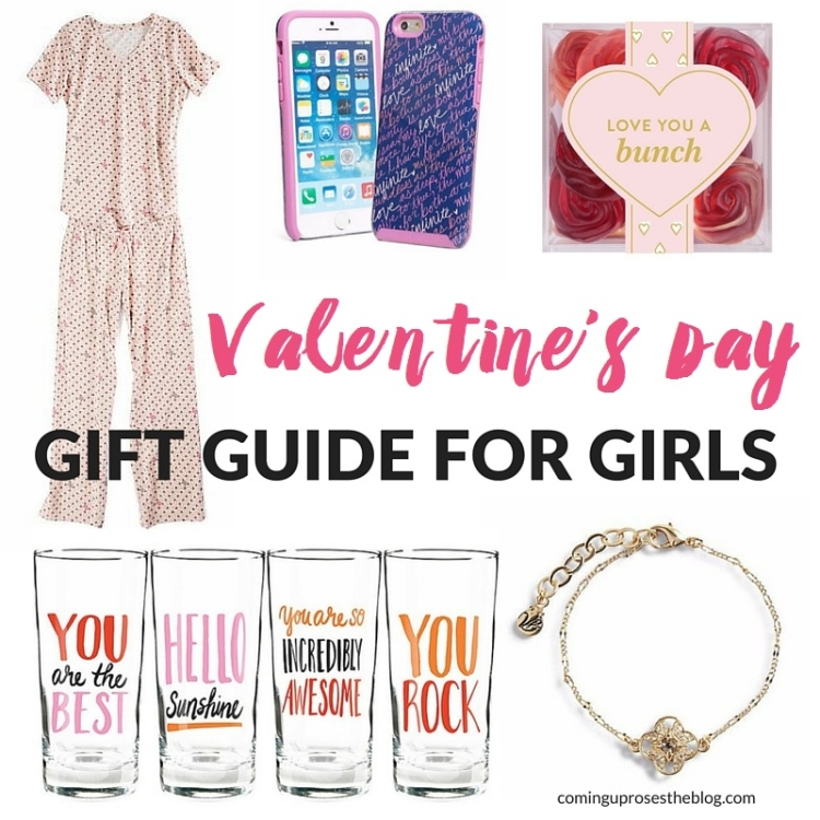 Valentines Day Gift Guide for Girls, featuring affordable gifts for YOU, too! On Coming Up Roses.
