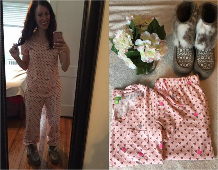 These Vera Bradley pajamas are the COMFIEST on the planet! Scoop them up for Valentine's Day, along with these other gift ideas from Coming Up Roses. (Click for more!)