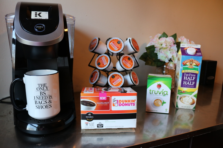 My morning coffee routine with JMS Smuckers on Coming Up Roses