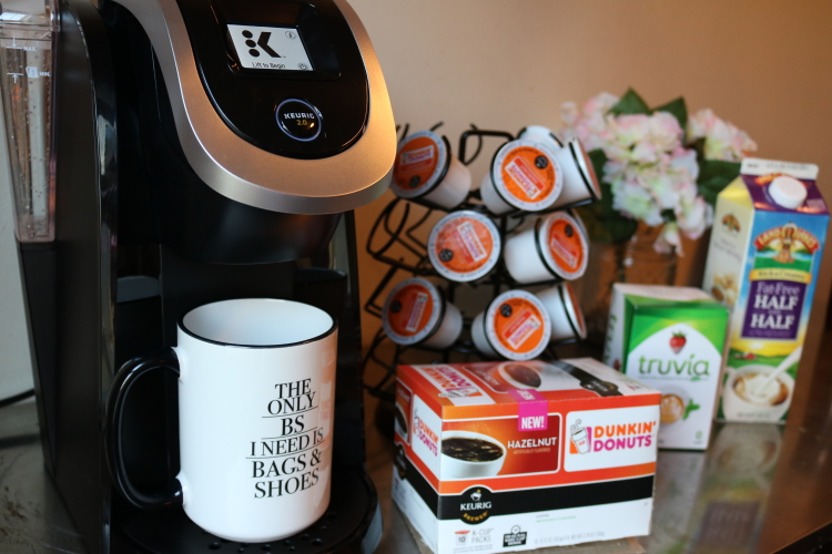 A Day in my (Coffee) Life - Keurig and Dunkin Coffee morning routine on Coming up Roses