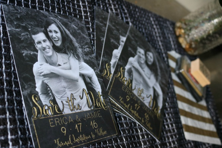 Save the Date - Wedding stationery from Barn Stationery