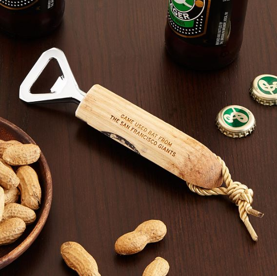 Baseball bottle opener - Father's Day Gift Ideas on Coming Up Roses