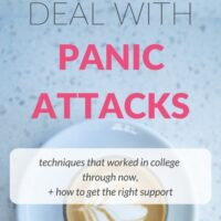 How I Deal with Panic Attacks: Notes on Anxiety